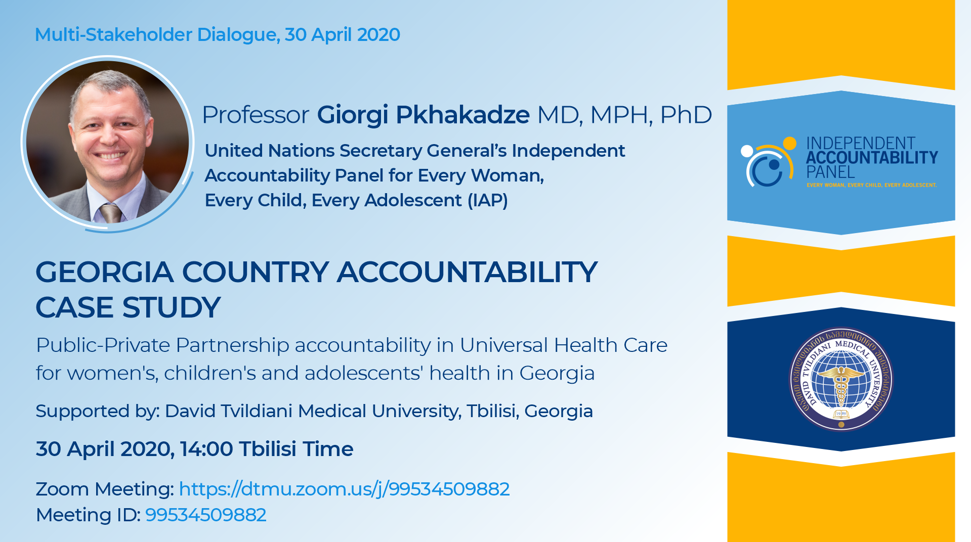UN 2020 Georgia Country Accountability Case Study