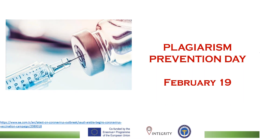 February 19 Plagiarism Prevention Day